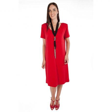 D6001 – Round Neck Dress