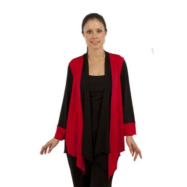 Plus Size Panel Jacket