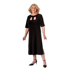 Bodice Cut Out Dress