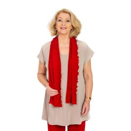 Fluted Rectangle Scarf