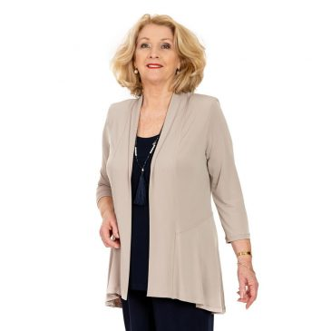 Womens Tailored Peplum Jacket